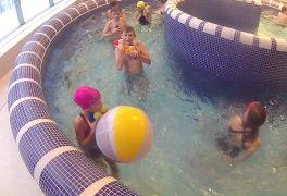 Výuka plavání a hrátky s vodou ve ŠSK 2017