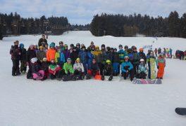 Lyžařský kurz žáků 7. ročníku