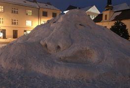Ahoj sněhový hejkale