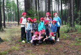 """Příměstský tábor pro nejmenší """" Honba za pokladem lesních skřítků"""" – fotoohlédnutí"""