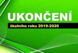 Ukončení školního roku 2019-2020